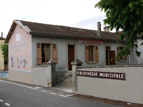 Bibliothèque municipale au Pont de Beauvoisin Savoie
