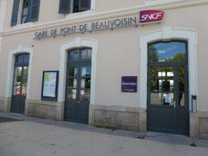 gare de Pont-de-Beauvoisin - Transports