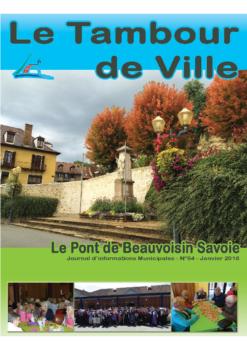 Tambour de Ville Janvier 2018