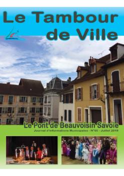 Tambour de Ville  Juillet 2018