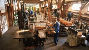 Musée machine à bois
