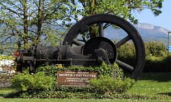 Bienvenue au Pont-de-Beauvoisin - machine